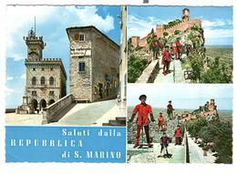 San Marino  Used 21-6-1963, Nice Franking - San Marino