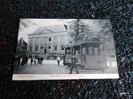 Tram : S' Gravenhage, Mauritshuis Van Het Plein Gezien   (X7) - Tramways