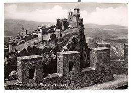 San Marino  Fortress Used  9-6-1957, Nice Franking - San Marino