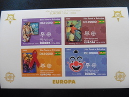 Europa Cept 2006; Sao Tome; Block; 50 Jahre Cept; Ungezähnt; Postfrisch**; Mnh - Europa-CEPT