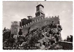 San Marino Fortress Used  17-9-1955, Nice Franking - San Marino