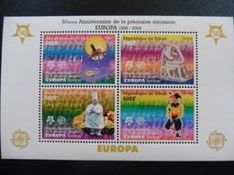 Europa Cept 2006; Tschad; Block; 50 Jahre Cept; Gezähnt; Postfrisch**; Mnh - Europa-CEPT