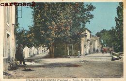 SAINTE-CECILE-LES-VIGNES ROUTES DE SUZE ET TULETTE 84 - Francia