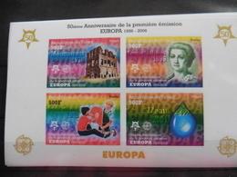 Europa Cept 2006; Tschad; Block; 50 Jahre Cept; Ungezähnt; Postfrisch**; Mnh - Europa-CEPT