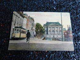 Tram : S' Gravenhage, K. Vijverberg Met Mauritshuis   (X7) - Tramways