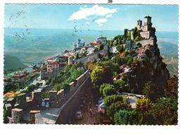 San Marino, Gelaufen 18-5-1967, Schöne Frankierung - San Marino