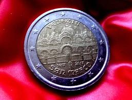 ITALIA 2017 2€ Euro BASILICA SAN MARCO VENEZIA Bi-metallic Commemorative Coin  CIRCULATED - Italien