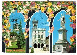 San Marino, Gelaufen 20-9-1974, Schöne Frankierung - San Marino