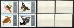 NUOVE EBRIDI - 1974 - CONSERVAZIONE DELLA NATURA - NATURE CONSERVATION - MNH - Francia (vecchie Colonie E Protettorati)