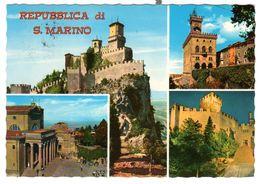 San Marino, Gelaufen 22-11-77, Schöne Frankierung - San Marino