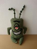 Sponge Bob Plankton Spongebob - Wool