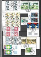 France   Vrac De Timbres Oblitérés 1992 -1999 à La Poste Dans Les Jours De Leur Parution Tous De 1er Choix   8  Scans - Vrac (max 999 Timbres)