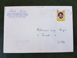 (31408) STORIA POSTALE ITALIA 1977 - 6. 1946-.. Repubblica