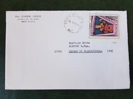(31410) STORIA POSTALE ITALIA 1977 - 6. 1946-.. Repubblica