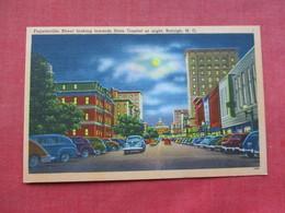 Fayetteville Street At Night  North Carolina > Fayetteville    Ref 3293 - Fayetteville