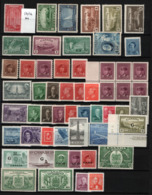 Canada 1938/50 Accumulation 55 Val. MNH/** VF - 1937-1952 Regno Di George VI