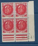 """FR Coins Datés YT 506 """" Pétain 30c. Rouge """" Neuf** Du 10.10.41 - 1940-1949"""