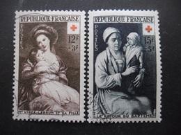 FRANCE N°966 Et 967 Oblitérés - France