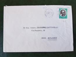 (31420) STORIA POSTALE ITALIA 1977 - 6. 1946-.. Repubblica