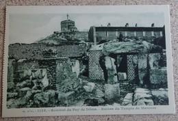 Cpa - (63) - Sommet Du Puy De Dôme - Ruines Du Temple De Mercure - Francia
