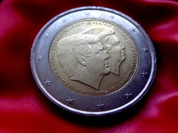 NEDERLAND HOLAND  2014 2€ Euro Reine Béatrix Prince Willem Alexander  Bi-metallic Commemorative Coin  CIRCULATED - Niederlande