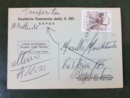 (31427) STORIA POSTALE ITALIA 1977 - 6. 1946-.. Repubblica