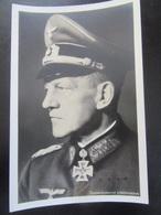 Postkarte Ritterkreuzträger Generaloberst Lindemann - Photo Hoffmann München - Weltkrieg 1939-45