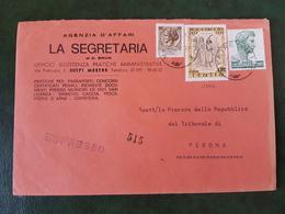 (31429) STORIA POSTALE ITALIA 1977 - 6. 1946-.. Repubblica