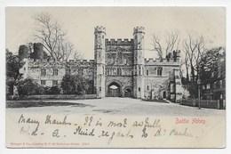 Battle Abbey - Stengel 15201 - Undivided Back - England