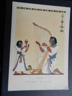 19923) EGITTO ARPA ARPISTA EGIZIANA STRUMENTO MUSICALE ILLUSTRATORE NICOULINE REPUBBLICA DEI RAGAZZI - Musica E Musicisti