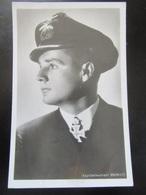 Postkarte Ritterkreuzträger Kapitänleutnant Endrass - Photo Hoffmann München - Guerre 1939-45