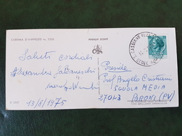 (31436) STORIA POSTALE ITALIA 1975 - 6. 1946-.. Repubblica