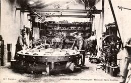 89. YONNE - AUXERRE. Usine Commergnat. Machine à Ferrer Les Roues. Beau Document. - Auxerre