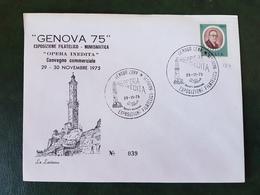 (31440) STORIA POSTALE ITALIA 1975 - 6. 1946-.. Repubblica