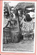 Seminole Indians Pounding Corn Everglades Florida - Etats-Unis