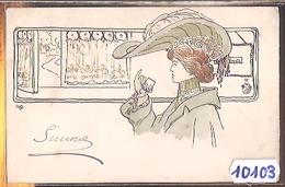 10103  ILLUSTRATEUR  H.D.P.  AK PC CPA   FAIT  MAIN A LA PLUME - Illustratori & Fotografie
