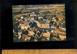 DOMFRONT EN CHAMPAGNE Sarthe 72 : Vue Aérienne Sur Le Centre Du Village - France
