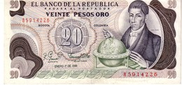 Colombia P.409 20 Pesos 1981 Au - Colombia