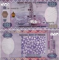 RWANDA       2000 Francs       P-40       1.12.2014       UNC - Rwanda