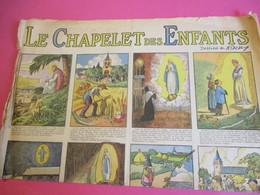 """Le Chapelet Des Enfants/Affiche/""""Chers Enfants De France,soyez Tous Du Chapelet Des Enfants !""""/Amiens/Evéché/1931 BD121 - Other"""