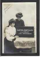 CPA Carte Sur La Carte Postale Publicité Publicitaire Réclame écrite Editions Teilliet Lyon Carte Photo RPPC - Advertising