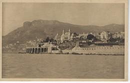 MONACO - MONTE CARLO - Vue Generale Sur La Tete Du Chien - Monte-Carlo
