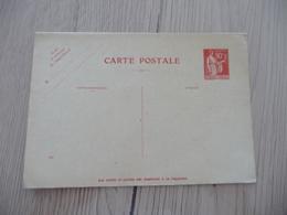 Entier France Vierge Type Paix 90 C + 90 C Rouge Carte Postale En Réponse Payée YT 285 CPRP1 Date 540 Côte - Entiers Postaux