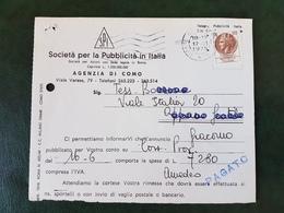 (31461) STORIA POSTALE ITALIA 1975 - 6. 1946-.. Repubblica