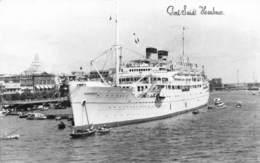 """M07997 """"PORT SAID HARBOUR"""" MOTONAVE SURRIENTO CARTOLINA POST. ORIGIN. SPED.1959 - Port Said"""