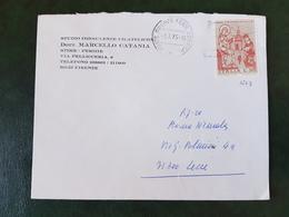 (31470) STORIA POSTALE ITALIA 1975 - 6. 1946-.. Repubblica