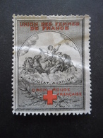 FRANCE Vignette Croix Rouge Oblitéré - Commemorative Labels