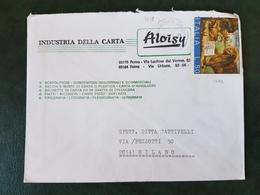 (31488) STORIA POSTALE ITALIA 1975 - 6. 1946-.. Repubblica
