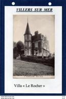 14-VILLERS SUR MER- Villa - Le Rocher - Villers Sur Mer