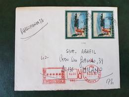 (31490) STORIA POSTALE ITALIA 1975 - 6. 1946-.. Repubblica